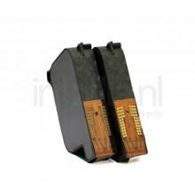HP 15 (C6615A) Dubbelpak (compatible)