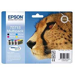 De Epson T0715 voordeelset goedkoop online kopen